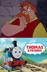 Ector is thinking Thomas and friends S25