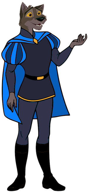 Lupinian Balto in Medieval Clothing 3