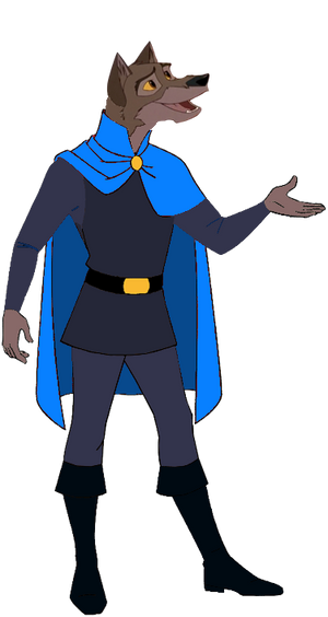 Lupinian Balto in Medieval Clothing 4