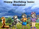 Happy Birthday Isaac Morales