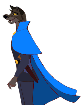 Lupinian Balto in Medieval Clothing 5