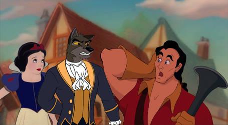 Snow White doesn't deserve you, Gaston.