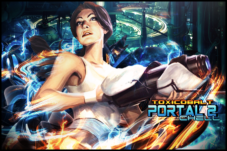 Portal 2 [Chell] by ToxiCobalt