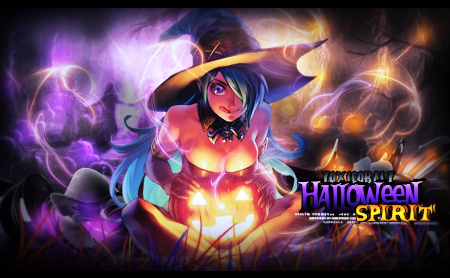Halloween Spirit! by ToxiCobalt