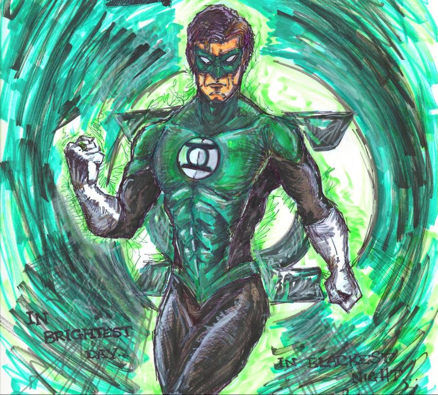 Green Lantern by sebatman