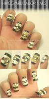 Himegyaru Sailor nails