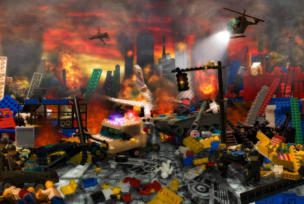 Legocalypse by JustinDeRosa