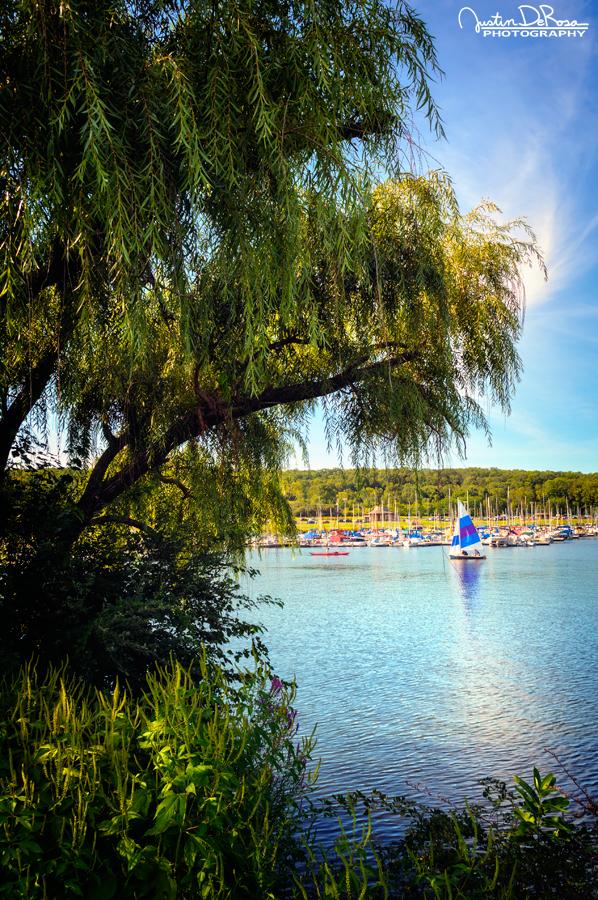 Summer Sailing by JustinDeRosa