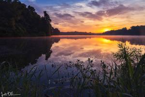 Soft Morning Sunrise by JustinDeRosa