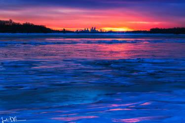 The Frozen Delaware River