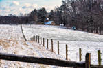 A cold winter morning at the farm