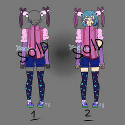CLSOED \ Adoptable outfits\oc  4 VIA PAYPAL