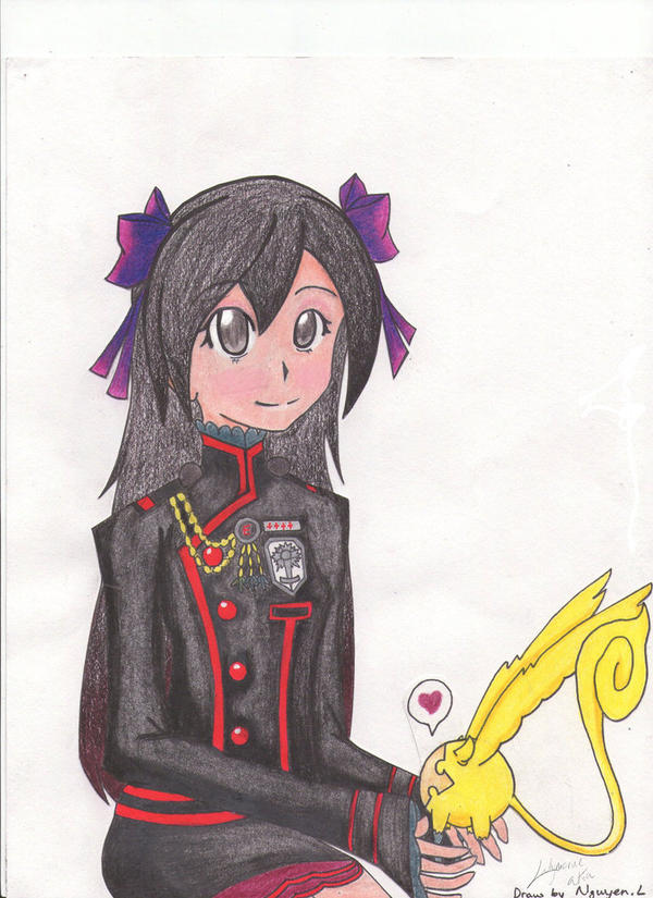 My Other OC in D.gray-man theme by Ladymerue