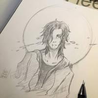 Mitch sketch by Kate9Arichi