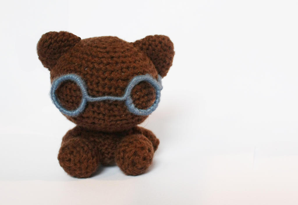 Bear (available on Etsy) by stickfigures123