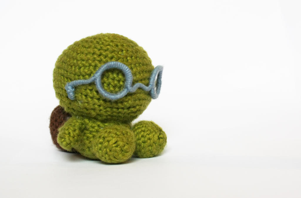 Turtle (available on Etsy) by stickfigures123