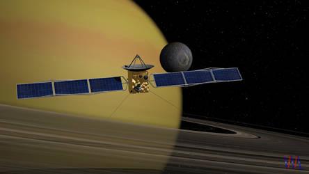 Saturn System: Mimas by VisualMotionMedia