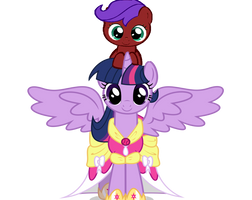 Twillight wearing Cumin instead of her crown