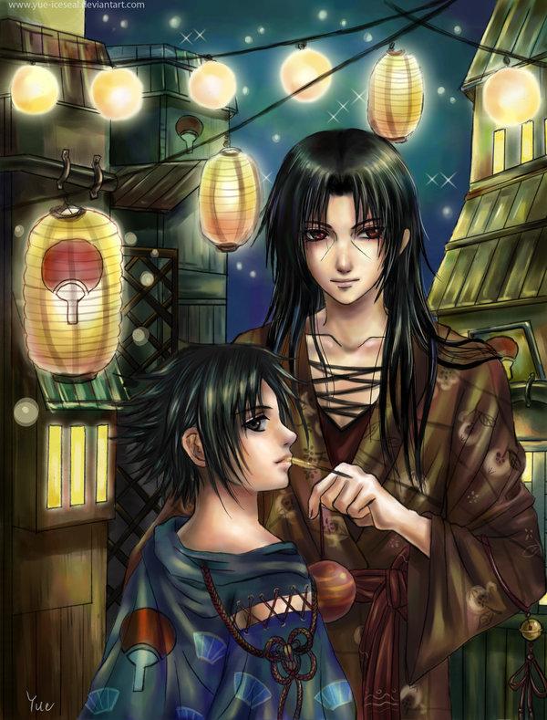 Uchiha Festival by we-love-sasuke
