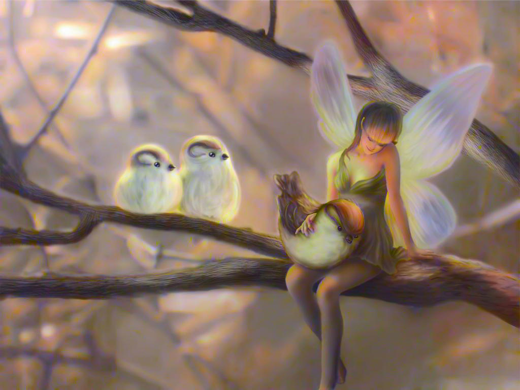 Tinker bell's nature by JDVN7
