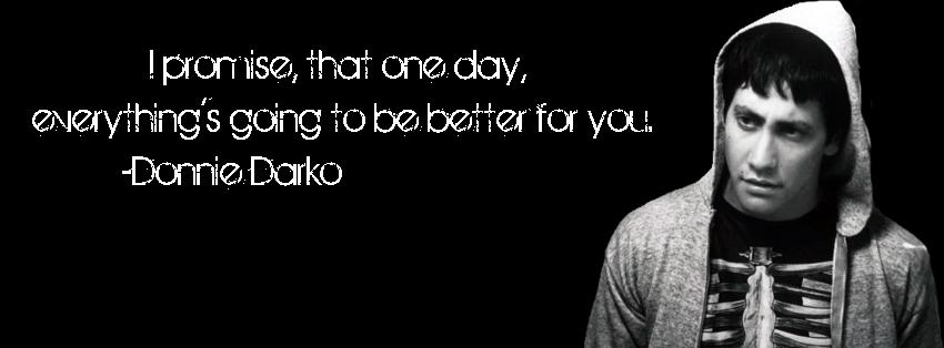 Donnie Darko Quote by AliTorres96 on DeviantArt