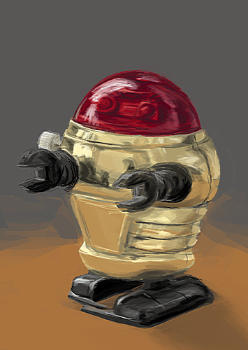 SpeedPaint - Robot