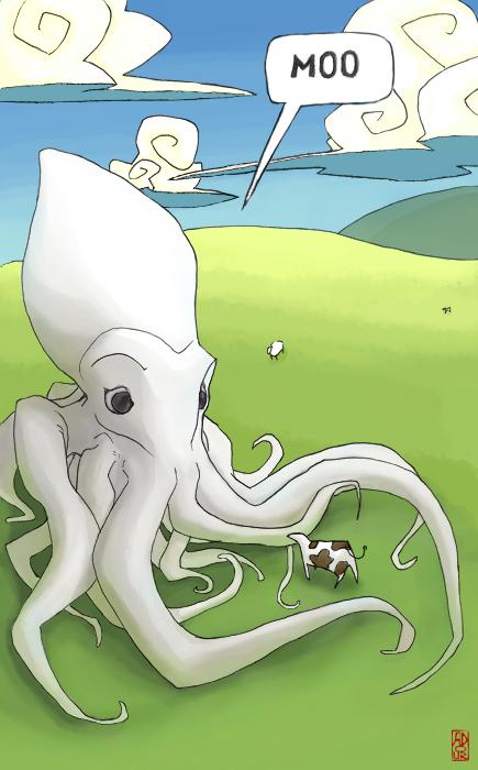 giant f'n squid colors