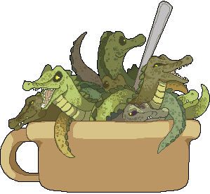 Crocodile Soup by Andcetera