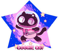 COOKIE CAT!! by Andcetera