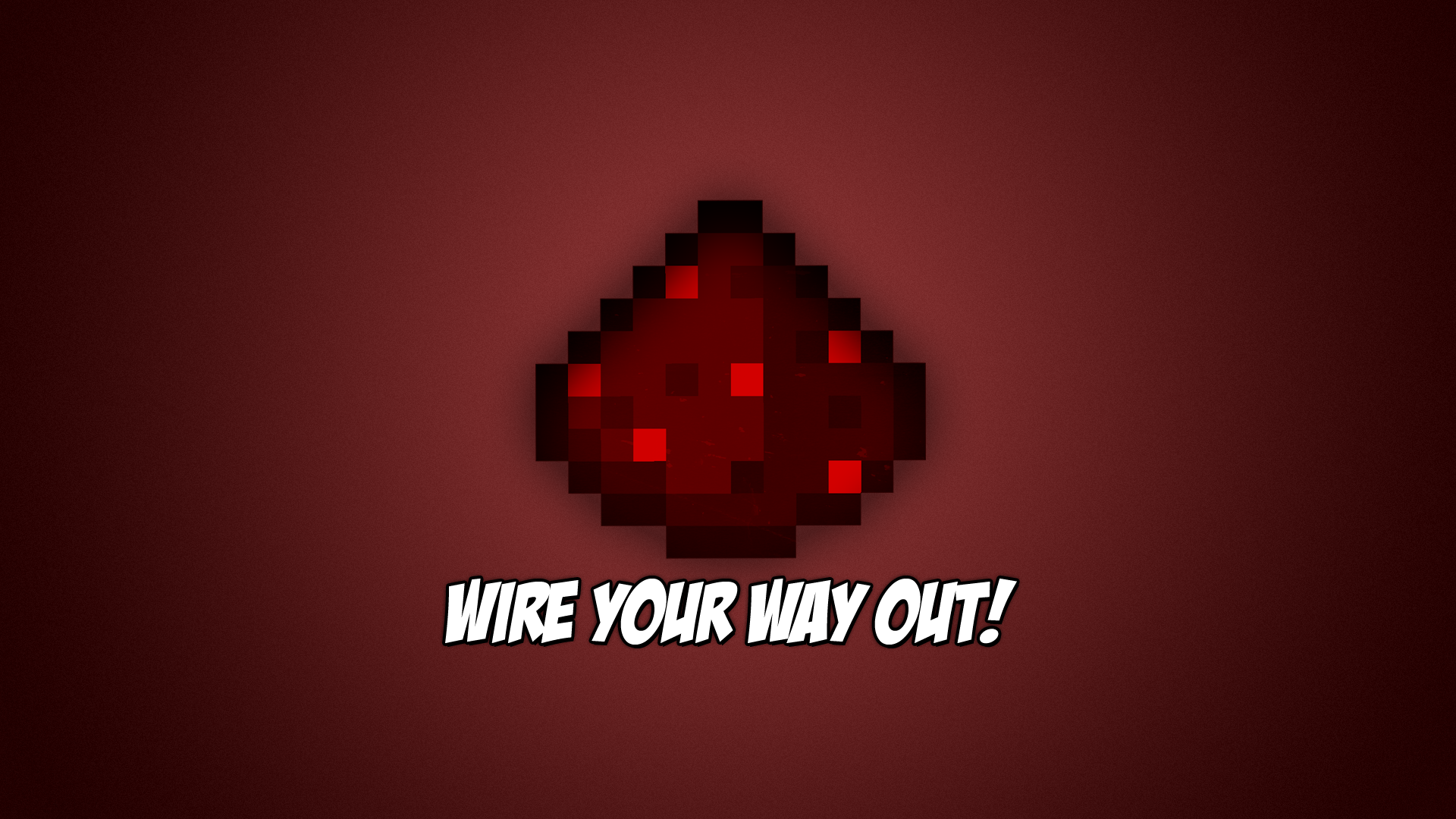 Most Inspiring Wallpaper Minecraft Red - redstone_wallpaper__by_janivarbalczer-d5fzhpu  Gallery_463097.png