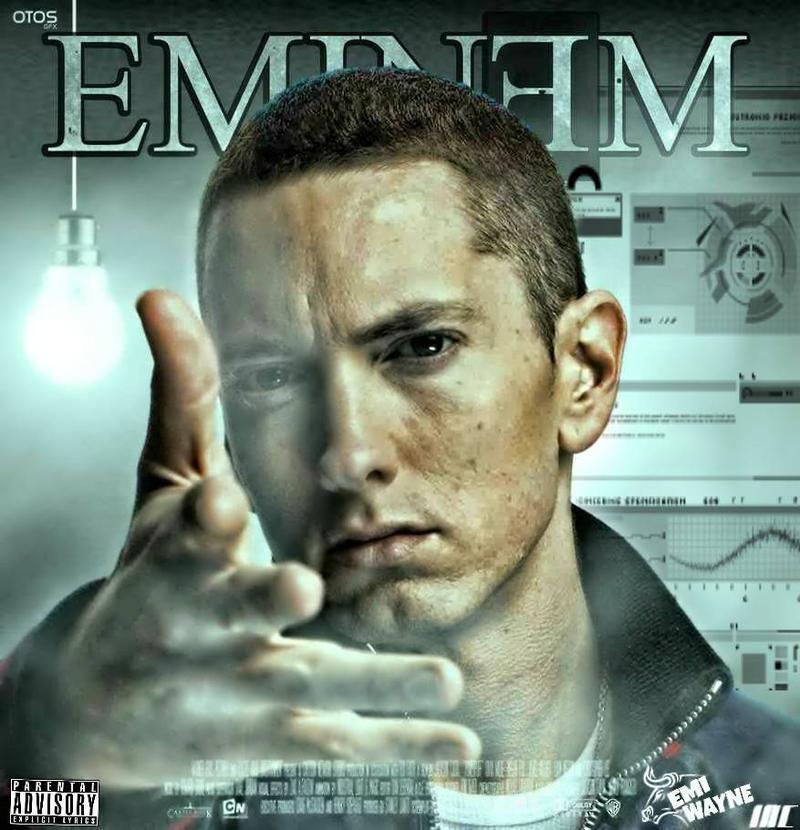 Mixtape Album cover Design for Eminem R A P G O D by ...