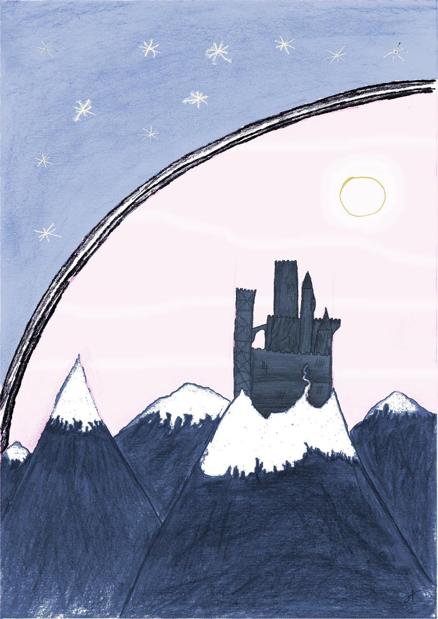 Mountain Landscape by DB-Krk-171