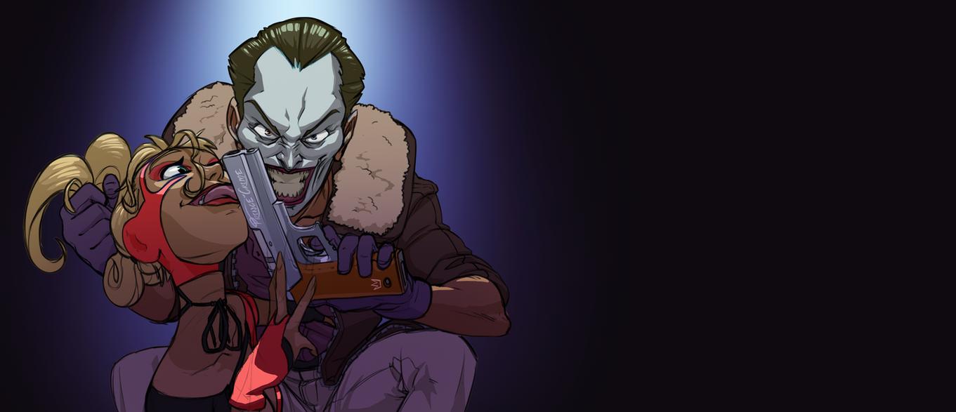 Joker and Harley by O-Orbis