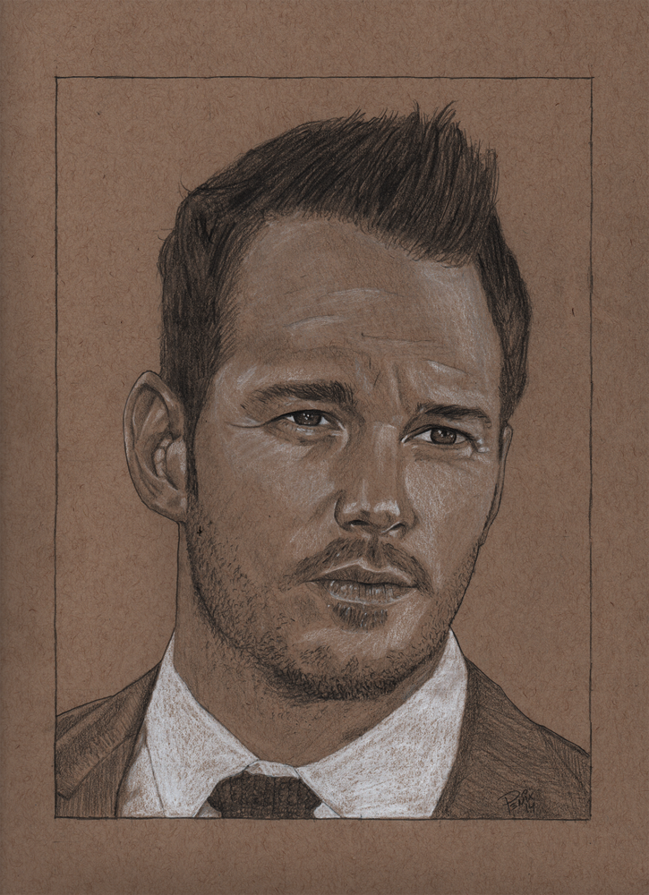 Chris Pratt on Toned Tan by statichavoc