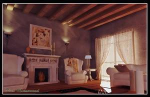 Villa Interior by dinamohammad