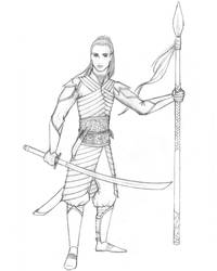 Noldorin elf by juliolsson