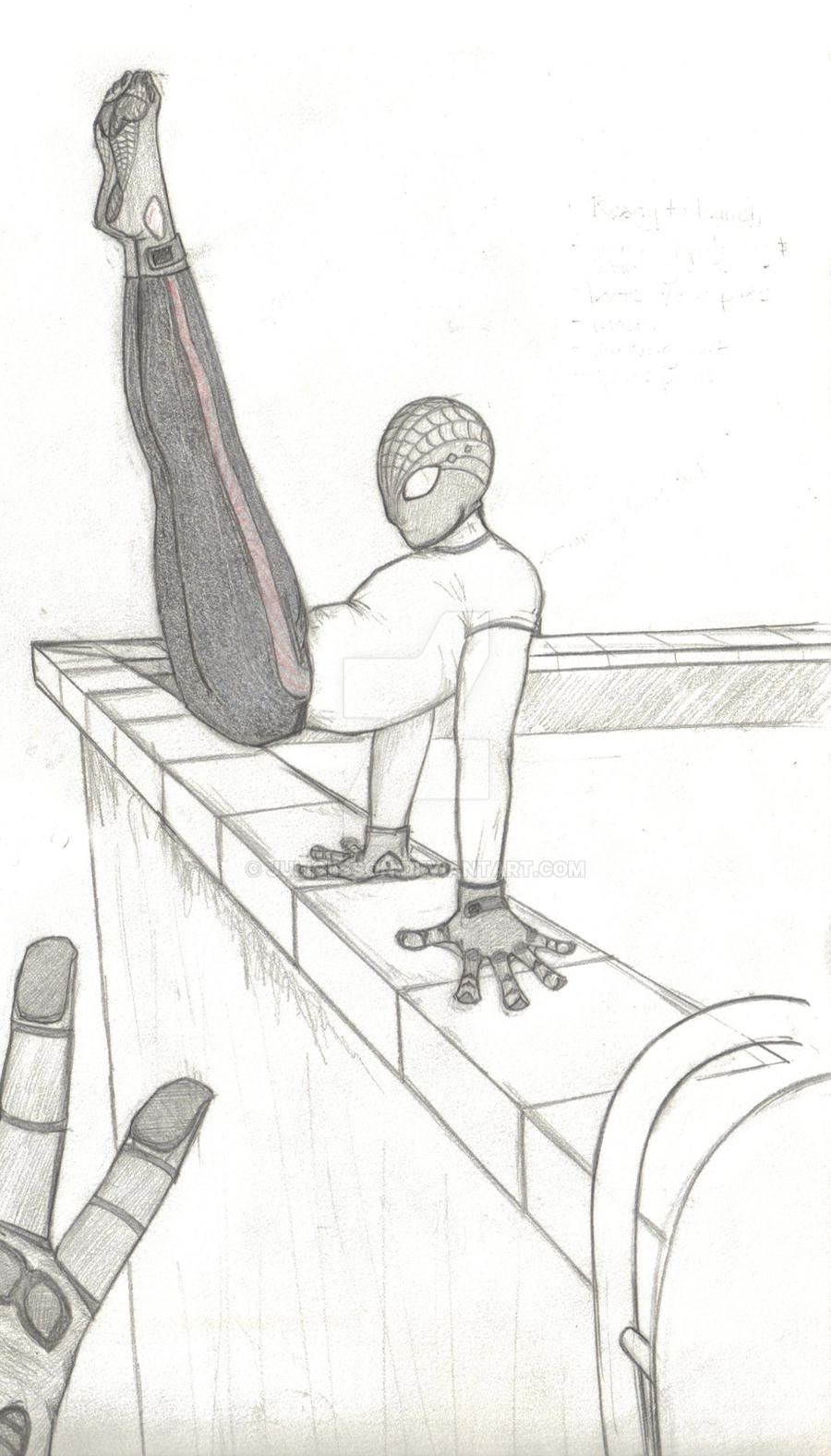 Spiderman reimagined by juliolsson