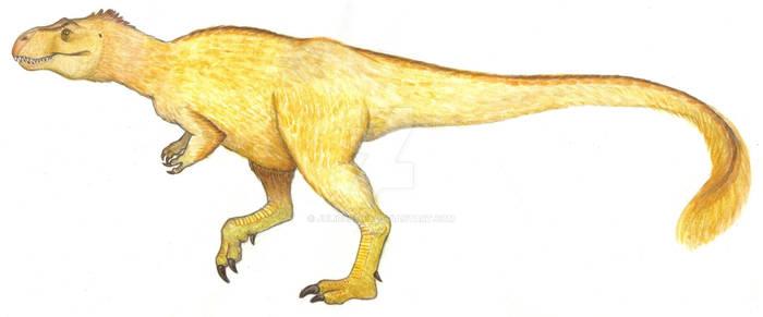 Feathered T. rex (Yutyrannus huali)