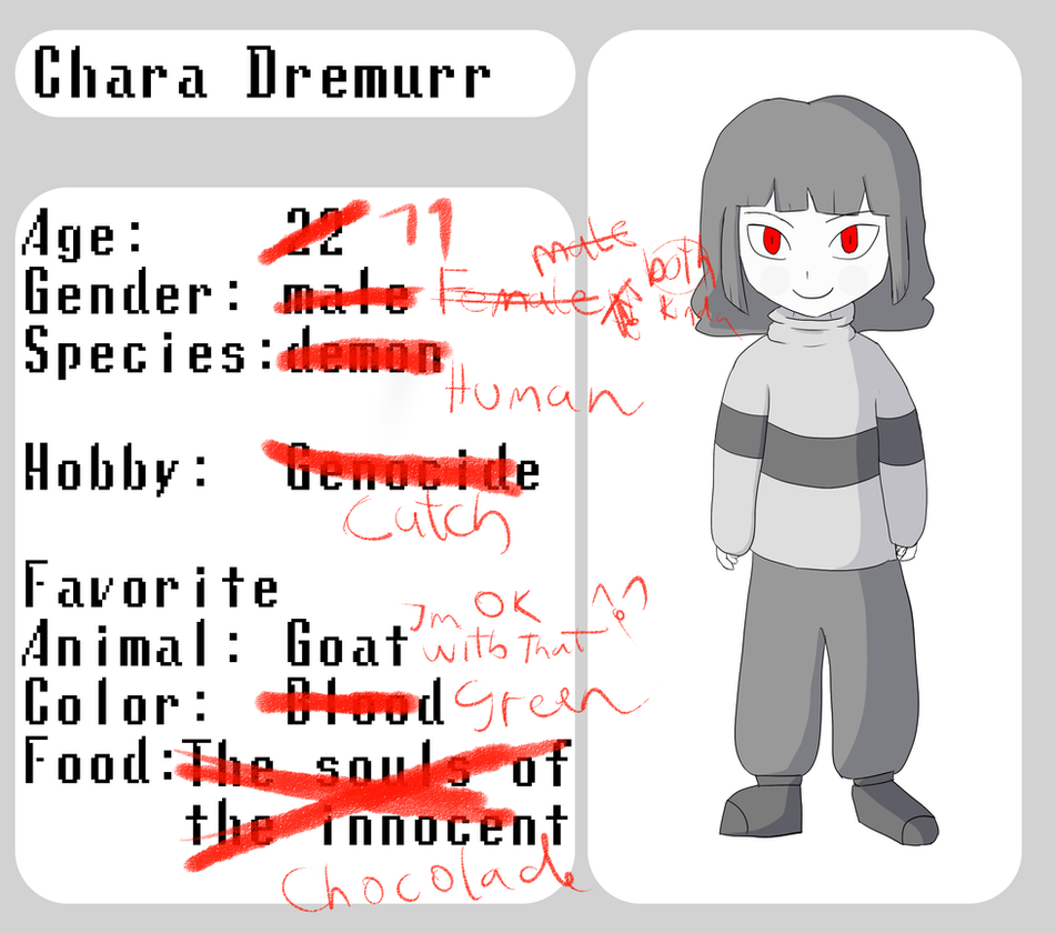 Try These Chara Undertale Gender {Mahindra Racing}