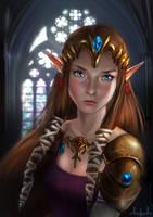 Zelda - The Legend of Zelda by Tarivanima