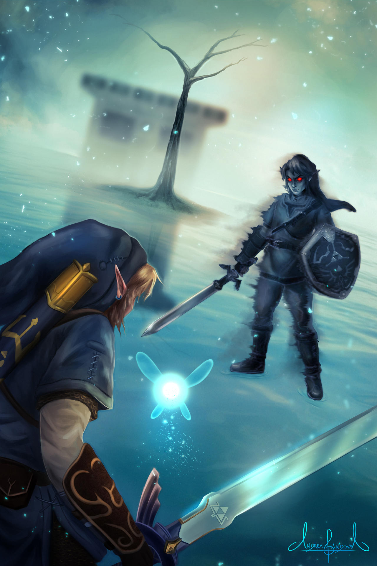 Dark Link Encounter - The Legend of Zelda by Tarivanima on ...