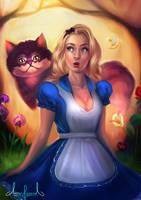 Alice in Wonderland by Tarivanima