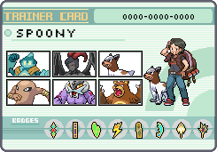 Spoony Pokemon Trainer