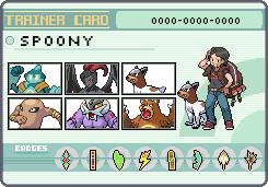 Spoony Pokemon Trainer by OkaMilan
