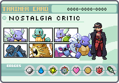 Pokemon Trainer Nostalgia Critic