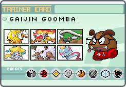 Pokemon Trainer Gaijin Goomba by OkaMilan