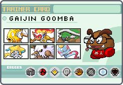 Pokemon Trainer Gaijin Goomba by OkaMilan