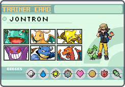 Rental Trainer Card Jontron by OkaMilan