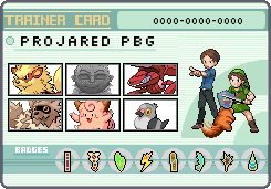 ProJared and PBG Trainercard by OkaMilan