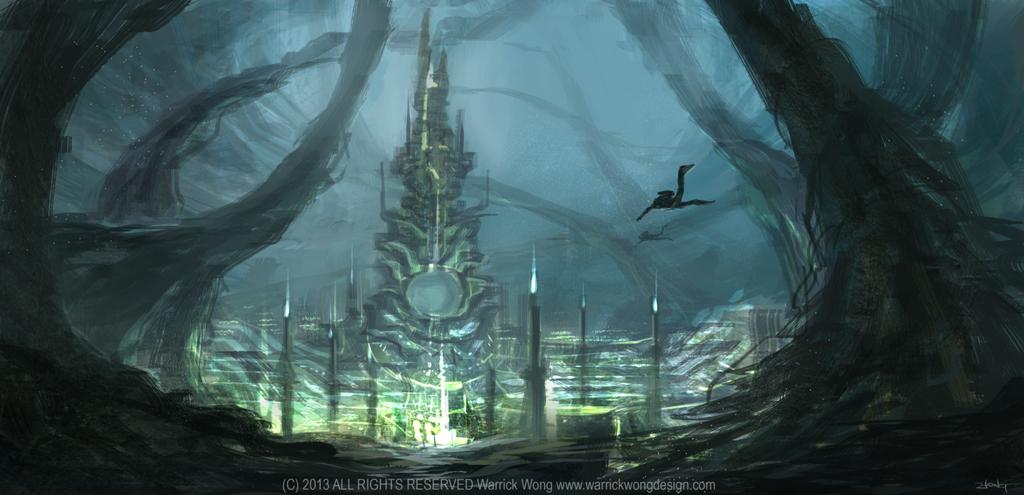 Underwater City Speed Paint by waLek05Underwater City Found